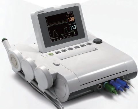 edan-f3-fetal-monitor-for-twins